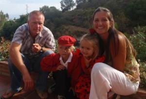 family in spain