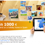 Win 1000€ to spend on a Holiday in Spain!