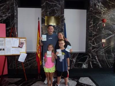 American Family in Spain