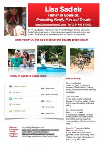 Family in Spain Media Pack