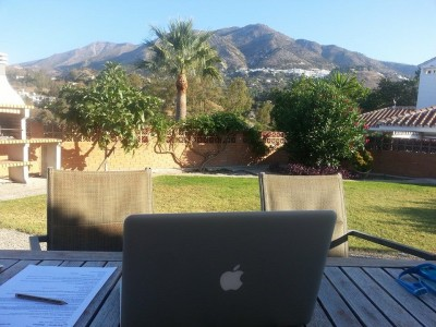 working from home in spain