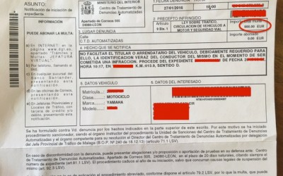 Paying Traffic Fines in Spain: This Time We Refuse To Pay!