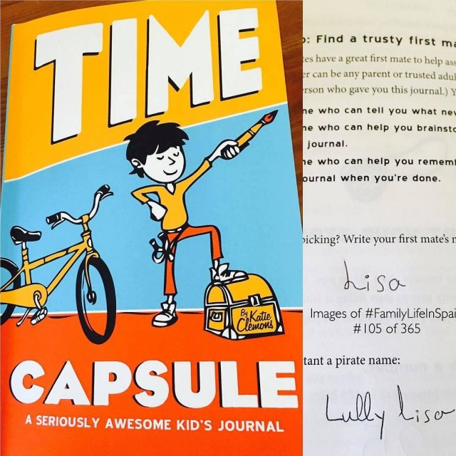 time capsule kids journal