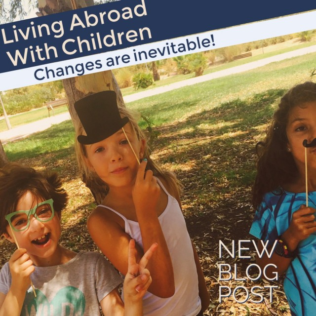 living abroad with children