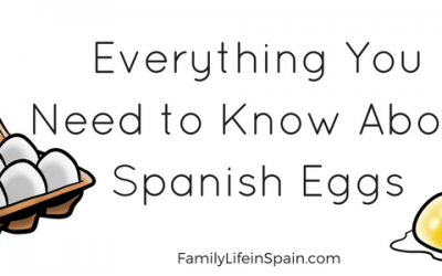 Everything you need to know about SPANISH EGGS: Codes, Dishes, Phrases and Body Parts