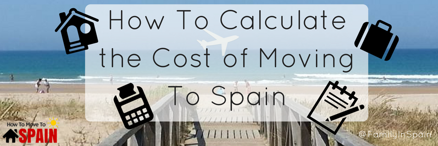 Cost of Moving To Spain