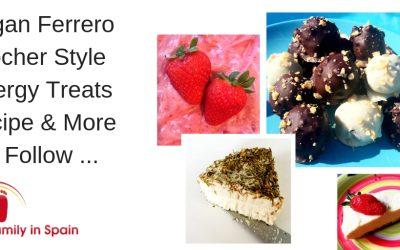 Vegan Ferrero Rocher Style Energy Treats