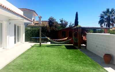 Designing A Simple Garden For Your Home In The Sun